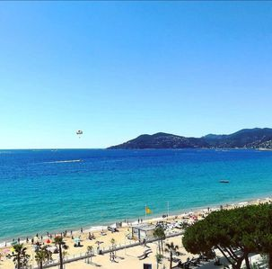 Photo for Superb Appart Cannes Facing the sea (10m) - Residence Royal Palm - #boccacabana
