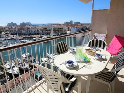 Photo for Apart-Rent-Apartment with canal and sea view (0161)