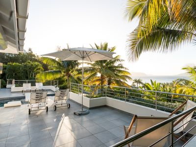 ST BART LUXURY VILLA SKRUTTEN,  WITH OCEAN VIEW AND CONTEMPORARY FURNISHING