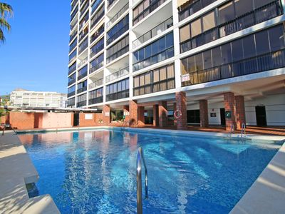 Photo for One bedroom Apartment, sleeps 3 in Calpe with Pool