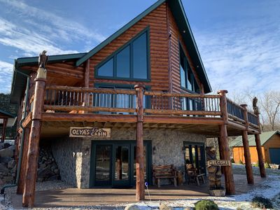 Photo for Brand New Cabin For Getaway Vacation - 1 Mile From Devil's Lake And Close Dells