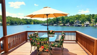 Photo for 8MM! Lake view / cove fun! Perfect for families-2 kitchens, 3 decks & 2 docks!