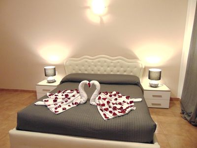 Double spacious, romantic room with private bath and balcony