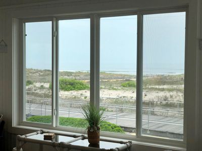 Photo for Beachfront home, Panoramic ocean views, boardwalk location- 2115 Wesley 2nd FL
