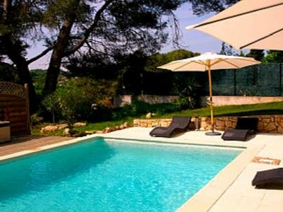 Photo for Large Villa with Private Pool In Valbonne Village