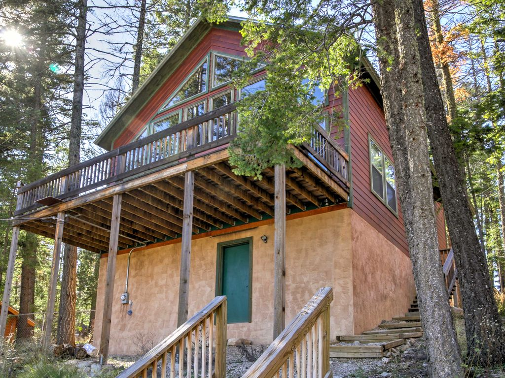 Cozy Cloudcroft Cabin W Serene Wooded Views Homeaway