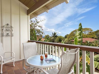 Photo for Waikomo Stream Villas #331: 2 BR / 2 BA condo in Koloa, Sleeps 4