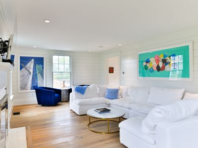 Photo for Walk to town, completely renovated 6/6 plus pool, gorgeous family vacation home