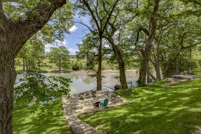 View of the River from the Deck (Our Lot has Tons of Shade to Keep You Cool!)