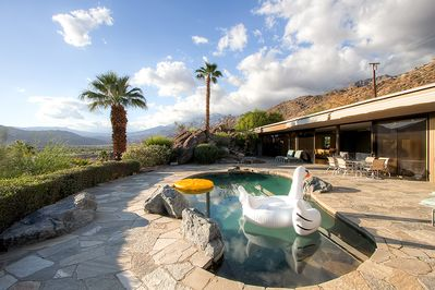 Relax by the pool and take in the fabulous desert views!