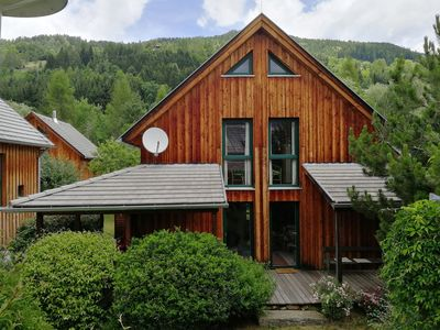 Photo for comfortable eco-wood house, sauna and fireplace in ski golf hiking region