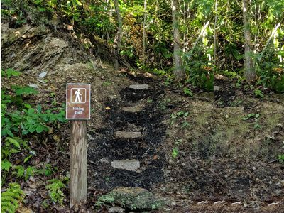 Private Hiking Trail to Park