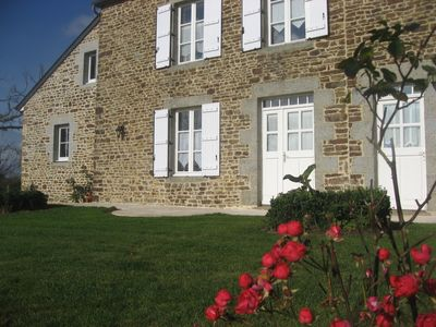 Photo for Charming  quiet property near Mont St Michel for 2 to 5 people
