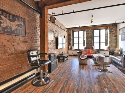 Photo for Unique & Charming 3BR loft - heart of old Montreal