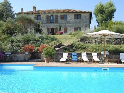 Photo for 9 bedroom Villa, sleeps 18 with Pool, Air Con and FREE WiFi