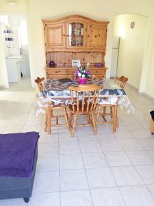 Photo for Semi-detached gite with heated pool 5km from the beach
