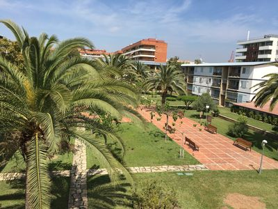 "Photo for Apartment a short walk away (133 m) from the ""Playa de Levante"" in Salou with Parking, Garden, Washing machine (658586)"