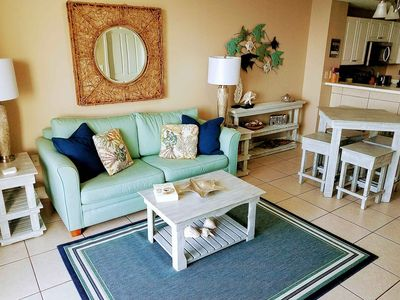 Photo for Great Fall and Spring Rates!  Large Private Balcony.  Beach chairs included.