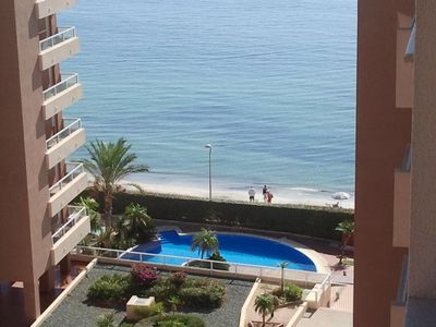 Photo for Apartment a few meters from the beach, urb. Punta Cormoran