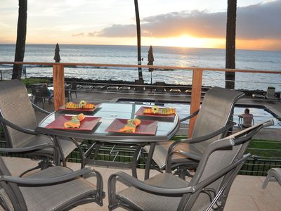 Photo for Hale Kai 217 - Maui Oceanfront Majesty with Old Hawaii Spirit