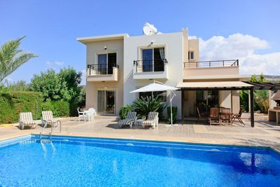 Private pool with terrace area