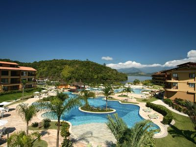 Photo for Come stay in paradise Angra dos Reis in complete structure of Resort with marina