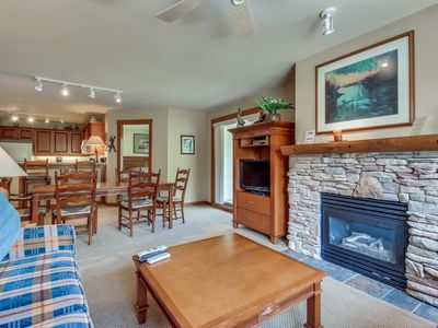 Photo for Ski-in/out condo w/ mountain view, shared hot tub, pool & resort amenities!