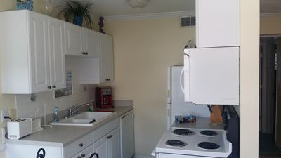 Photo for Beautiful Condo One Block From The Beach.