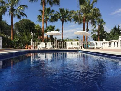 Delightful Torremolinos Villa Rental   Large Heated Swimming Pool