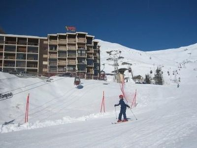 Photo for True slopes with panoramic views of the resort. Garage box Skiing