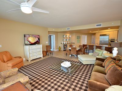Photo for Great Views of the Bay - Next to Elevator - Easy Access to Pools