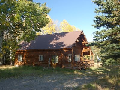 Cabin in the summer