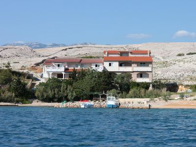 Photo for Two bedroom apartment near beach Kustići, Pag (A-6376-j)