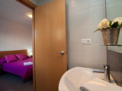 Photo for Apartment in Riumar with Parking, Internet, Washing machine, Air conditioning (89909)