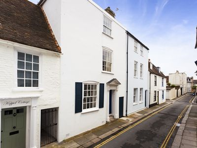 Photo for Beautiful historic 4 bed house by the sea for family hols and romantic getaways