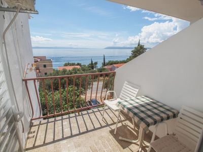 Photo for Studio flat with balcony and sea view Tučepi (Makarska)