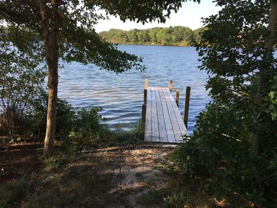 Community dock at The Pines
