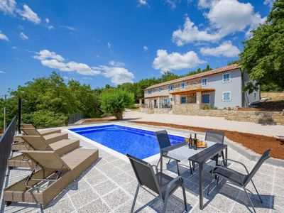 Photo for Istrian stone house with swimming pool, set in untouched nature