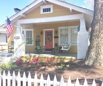 Photo for Pet Friendly Historic Cottage Bungalow in Downtown Wilmington Close to the Beach