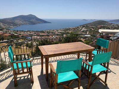 Photo for LUXURY DETACHED VILLA IN KALKAN WITH STUNNING SEA VIEWS & PRIVATE SWIMMING POOL