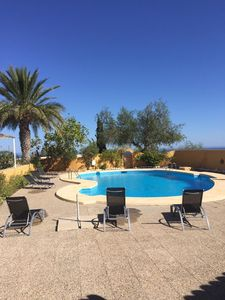Photo for Beautiful villa sleeps 8, panoramic sea views from all rooms. Special offers!