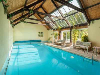 Photo for Kittitoe Lodge with its own indoor heated pool and jacuzzi set in own 50 acre va