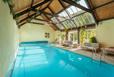 Indoor pool in Lodge