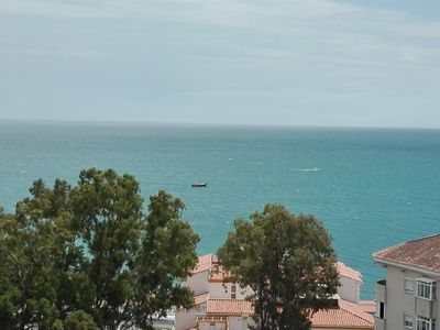 Photo for Studio with stunning sea views, swimming pools, close to beach