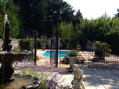 Photo for VERY LARGE AND PLEASANT HOUSE IN A GREEN HAVEN OF 4000 M² WITH POOL