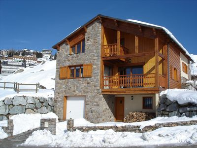 Photo for Large chalet with garden in residential area
