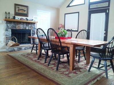 extra large dining room table