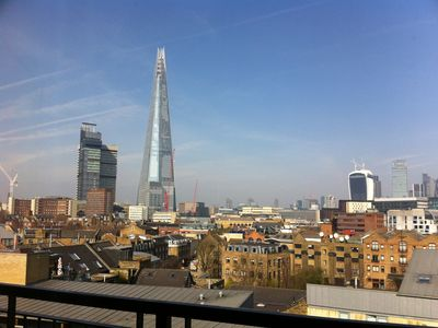 Photo for Extended & refurbished (Oct17) top floor flat with amazing views, Bermondsey St.