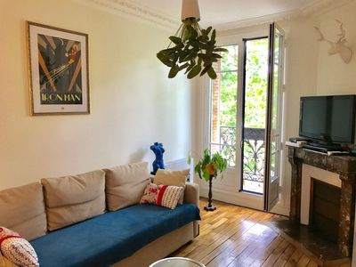 Photo for Apartment for 4 people very close paris and metro