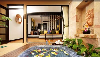 Photo for Villa with garden view
